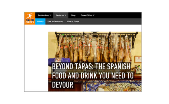 Beyond Tapas, Rough Guides